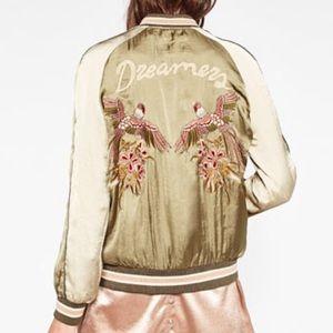 Jackets & Blazers - Beautiful satin bomber jacket Sukajan